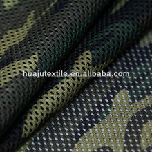 camouflage mesh for military clothing, caps, bags
