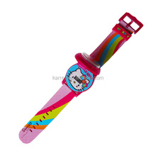 China lcd kids digital watch hello kitty