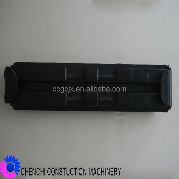 construction machinery digger rubber track pad