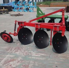 Ploughing machine tractor plough 3 disc plough
