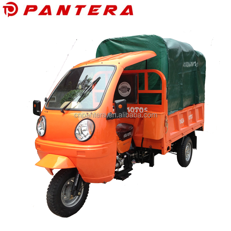 New Chinese Durable Passenger and Cargo Type 250cc Shaft System Cargo Tricycle For Sale