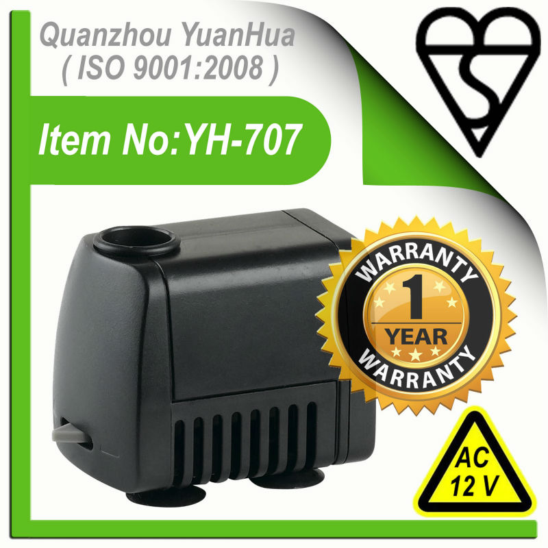 BS Approved Micro Water Pump(Model No.:YH-707)