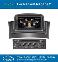 A8 Chipset 3G Wifi Car DVD for Renault Megane 2 II Fluence 2002-2008 With GPS Navgation Radio BT Audio Video Player Free Map