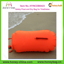 Hot Sell Best Price Safety Float and Dry Bag for Triathletes Safe Swim buoy