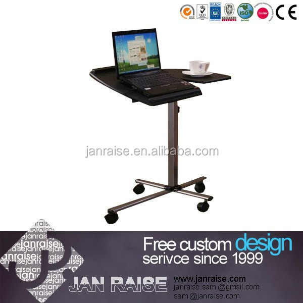 Wholesale portable laptop table with wheels OK-L8065