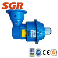 gear box planetary geared motor for Variable density agitators speed reducer