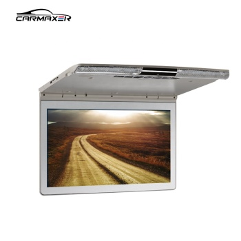 17.3inchcar led car lcd monitor mini tv slim roof mount MP5 player monitor for bus