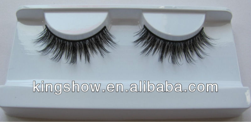 real Siberian Mink fur eyelash extension with packaging