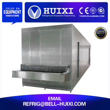 Liquid Nitrogen/Freon/Ammonia Freezer Machine IQF