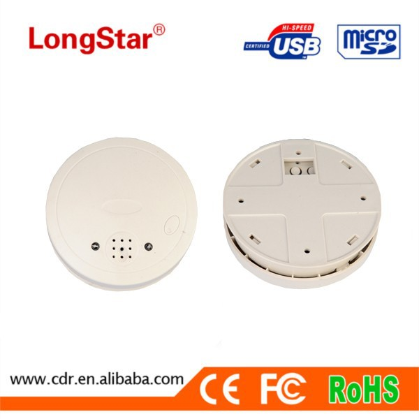 Wireless smoke detector hidden camera Real-Time Monitoring Recording video camera YM-<strong>W007</strong>