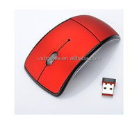 classic foldable wireless mouse with customised logo