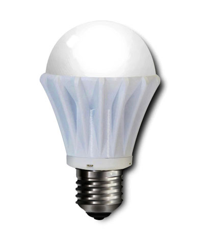 LED E27 7-Watt 3200K Warm White Light Bulb