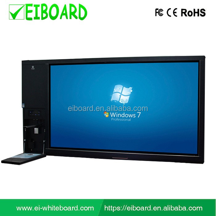 "65"" All-in-one computer led touch screen controller wall mounted interactive touch screen"