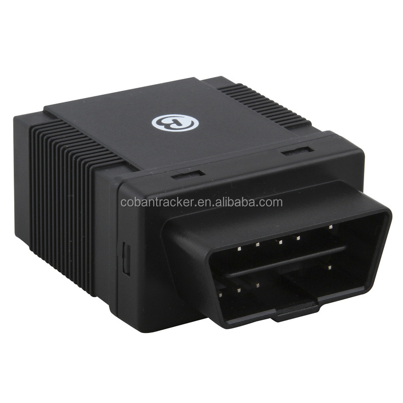 OBD II GPS tracker GPS306A with real time fuel monitor ,free web server tracking platform www.gpstrackerxy.com