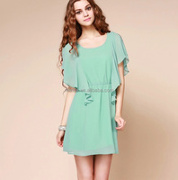 latest design spring & summer show slim dress and elegant women dress
