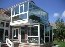 European Style aluminium Glass House for commercial