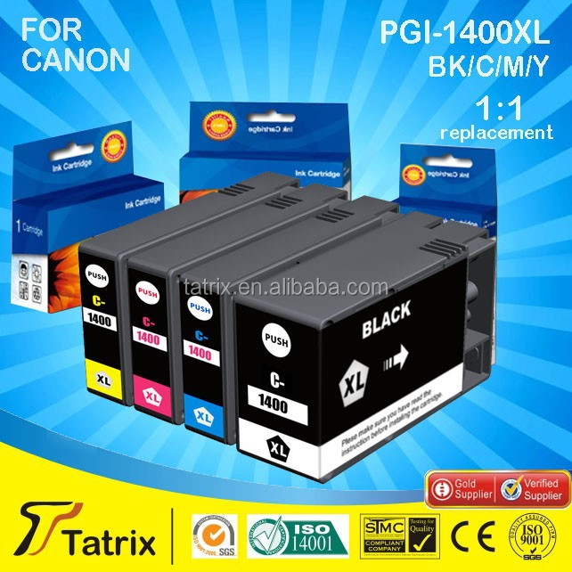 Factory directly compatible ink for Canon PGI-1400XL for Canon MAXIFYMB2040/MB2340