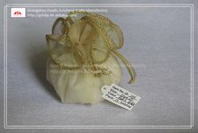organza tulle circle golden