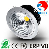2015 CE ROHS SAA 3inch 4inch 6 inch 8inch LED COB downlight 5w 10w 15w 20w 30w round LED ceiling light Shenzhen manufacturer
