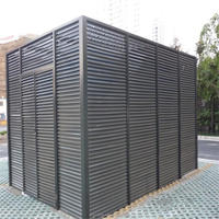 All kinds of aluminum louver