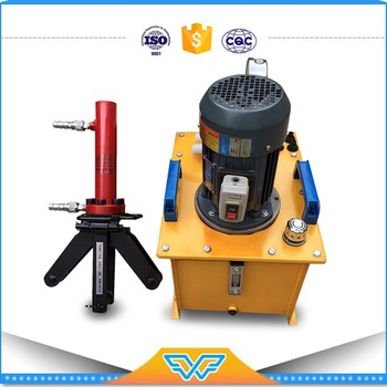Portable Hydraulic steel bending machine