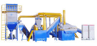 JZ-930A scrap rotors recycling production line separate plastic and metal