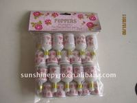 wedding small party poppers toy fireworks for children