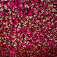 Dried rose bud product type roselle tea