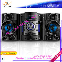 2014 new LG design dvd/cd micro hifi system