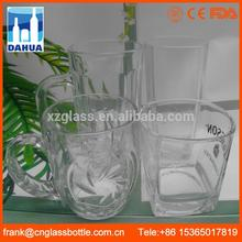 10 years Factory Well exported bride and groom wine glasses