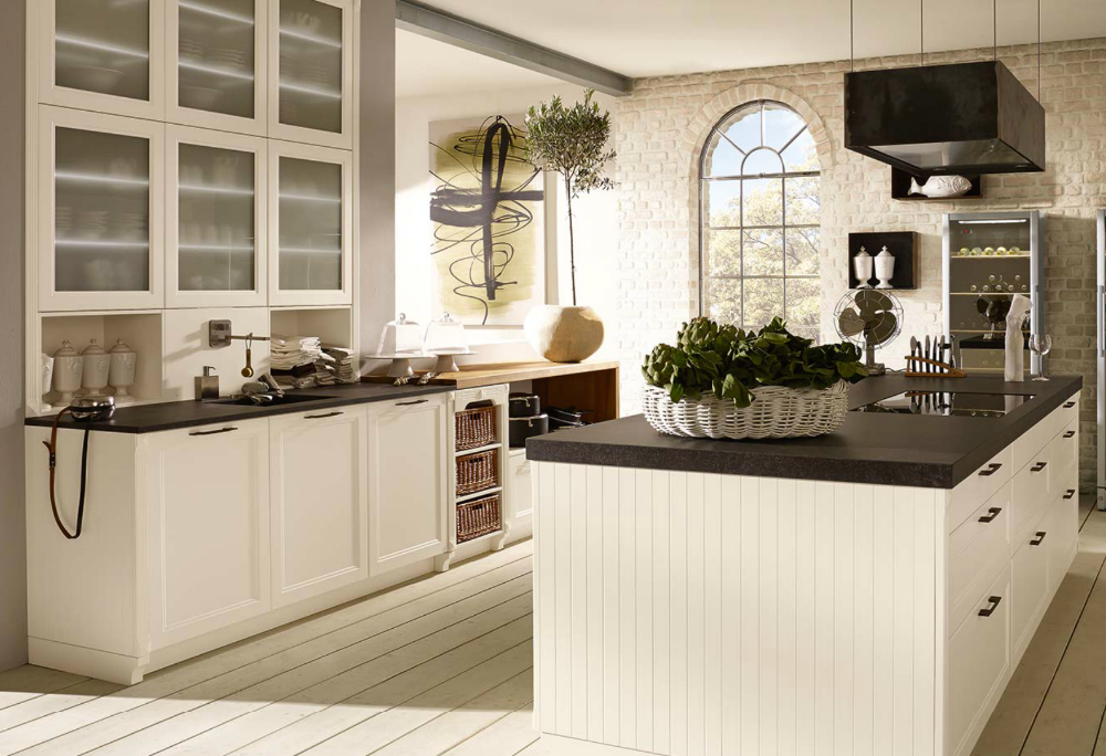 German PVC ( Renolit ) Country Style Kitchen Cabinets
