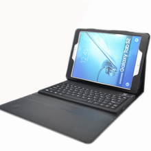 "Leather Case Cover with Wireless Bluetooth Keyboard For Samsung Galaxy Tab S2 9.7"" T810 T815"
