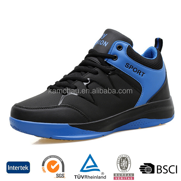 oem design good quality cheap handmade mens high top genuine leather basketball shoes