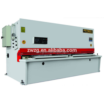 hydraulic sheet metal cutting machinery