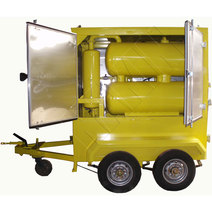 Mobile Type Vacuum Transformer Oil Purifier Machine, Oil Filtration System
