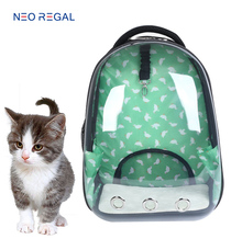 Wholesale new product dog carrier bag cat clear bag capsule pet backpack, cat backpack
