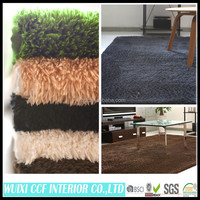 polyester fiber production home floor carpet decorative floor rugs easy clean mat