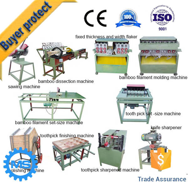 teethpick making machine