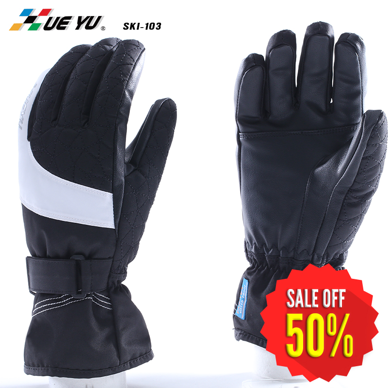 Sports Winter Warm Waterproof Ski Gloves