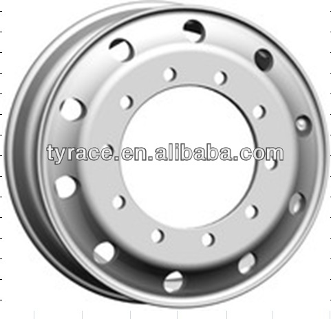 aluminium truck Wheel for truck and bus with ECE DOT TUV certificate