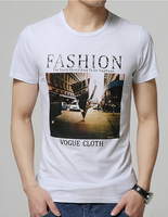 Mens short sleeve round neck t shirts in bulk