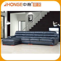 Very Soft Sectional Corner Cheap Real Modern Leather Sofa Set