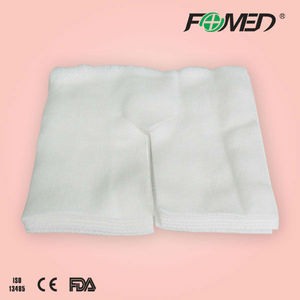 disposable non woven gauze swabs with Y-cut, O-cut, or I-cut