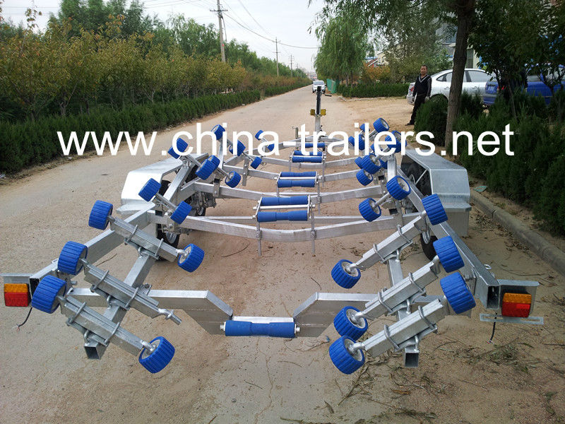 China Long Boat Trailer With Brake