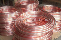 TU1 copper tube coil for Air Condition, Refrigerator use