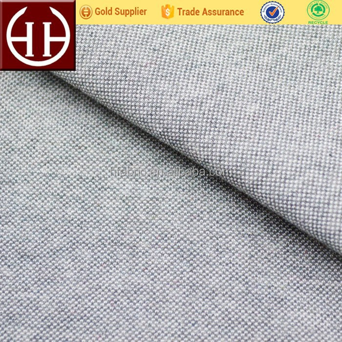 Two-sided jersey polyester cotton pique polo shirt fabric