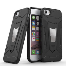 2017 Hybrid 2 in 1 Shockproof kickstand phone case for iphone 7 case