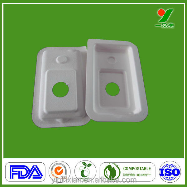 2013 Biodegradable Packaging Wet Press Moulding Pulp Trays