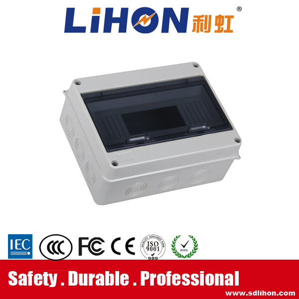 different diameter type way full plastic white base oudoor electric junction box