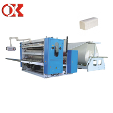Manual Facial Paper Folding Machine/Facial Paper Tissue Production Line Guangzhou
